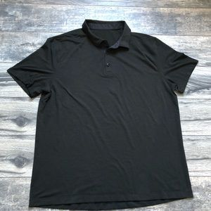 Lululemon Athletica black polo